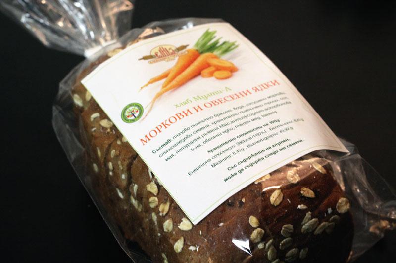 морковен хляб