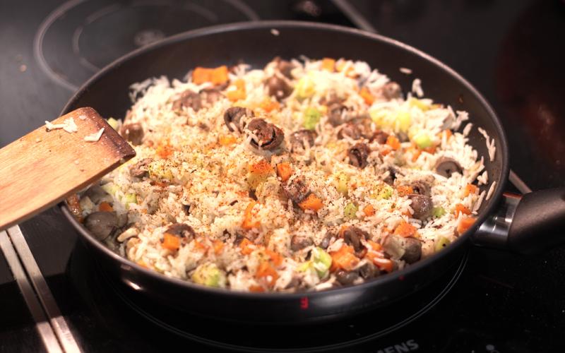 сърца с ориз